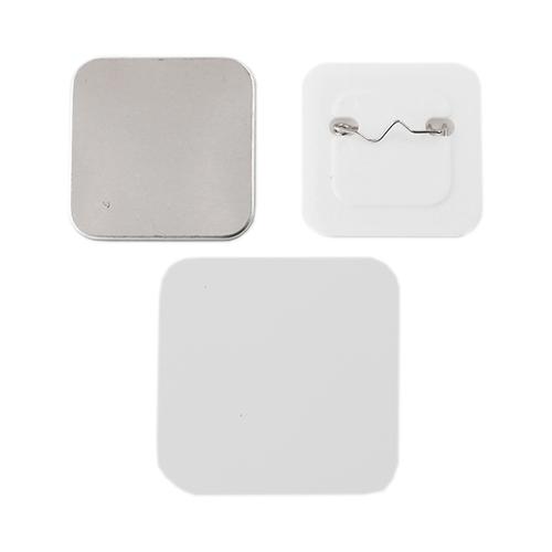 Фото - Заготовки для значков 37x37 мм, пластик/булавка, 200 шт заготовки для значков button boss d25 мм 500 шт