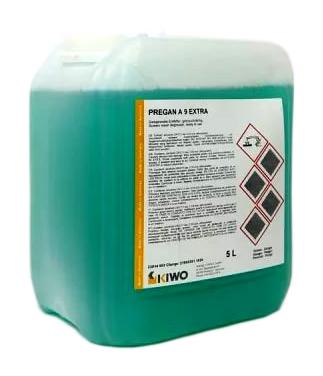 Фото - Обезжириватель KIWO Pregan A9 Extra (5 л) наполнитель для кошачьего туалета icat lavander силикагелевый впитывающий 5 л