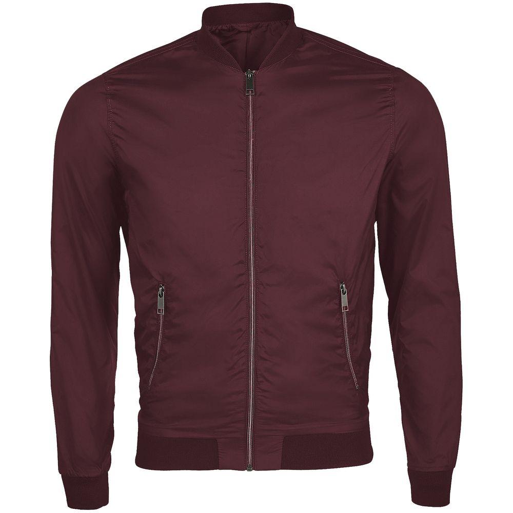Куртка унисекс ROSCOE бордовая, размер L