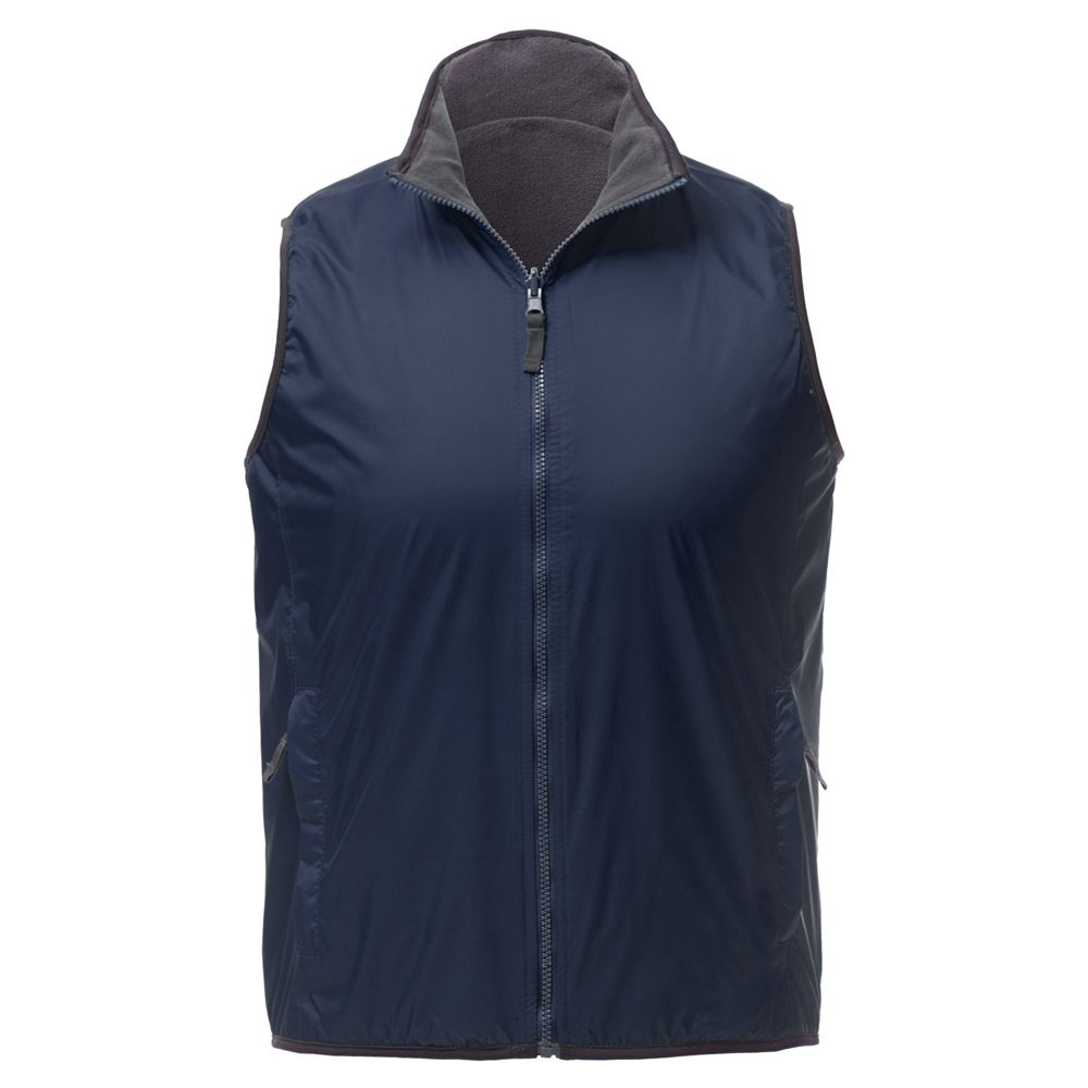 Жилет двусторонний WINNER, темно-синий, размер XS блузка женская adl цвет темно синий 13026559014 118 размер xs 40 42