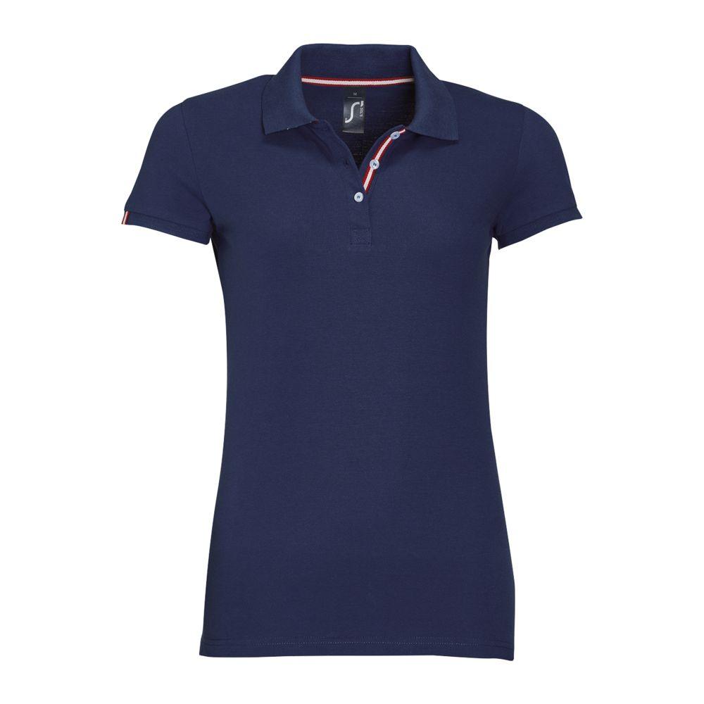 Рубашка поло PATRIOT WOMEN темно-синяя, размер S рубашка поло мужская patriot темно синяя размер s