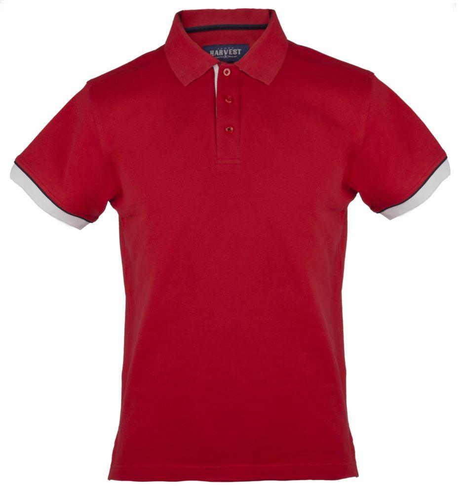 Рубашка поло мужская ANDERSON, красная, размер 3XL цена 2017