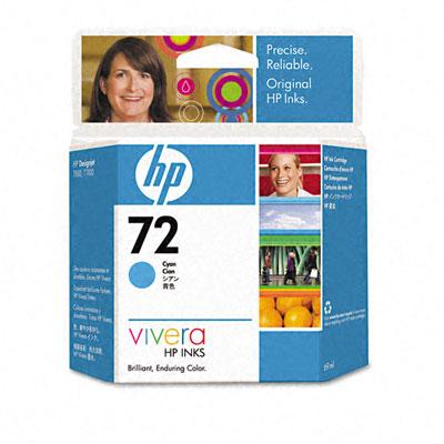HP DesignJet 72 Cyan 69 мл (C9398A) картридж hp 72 cyan c9398a