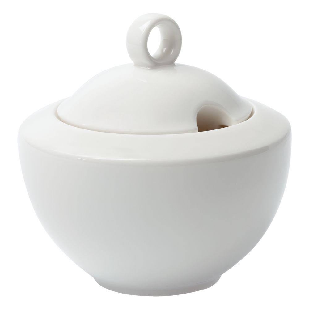 Сахарница Maxim Diamond, молочно-белая шапка brugge молочно белая