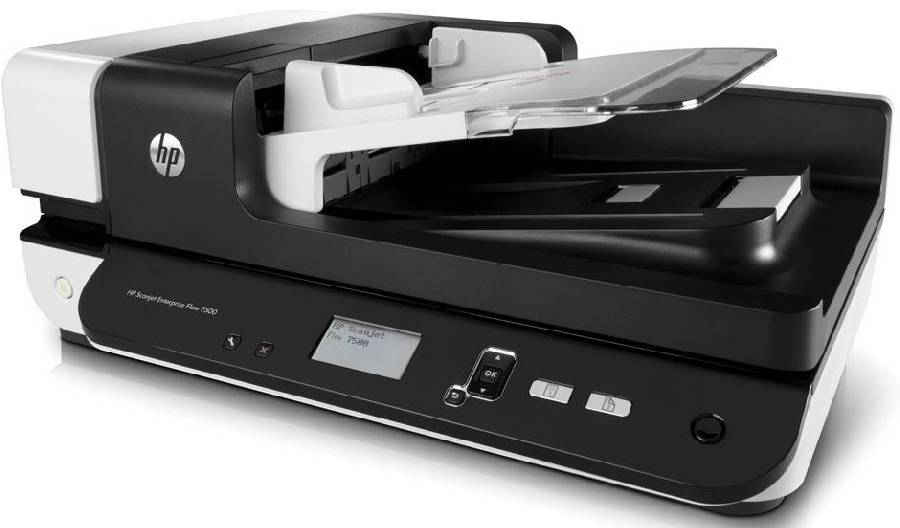 HP Scanjet Enterprise Flow 7500 (L2725B) сканер hp scanjet enterprise flow 7000 s3 l2757a
