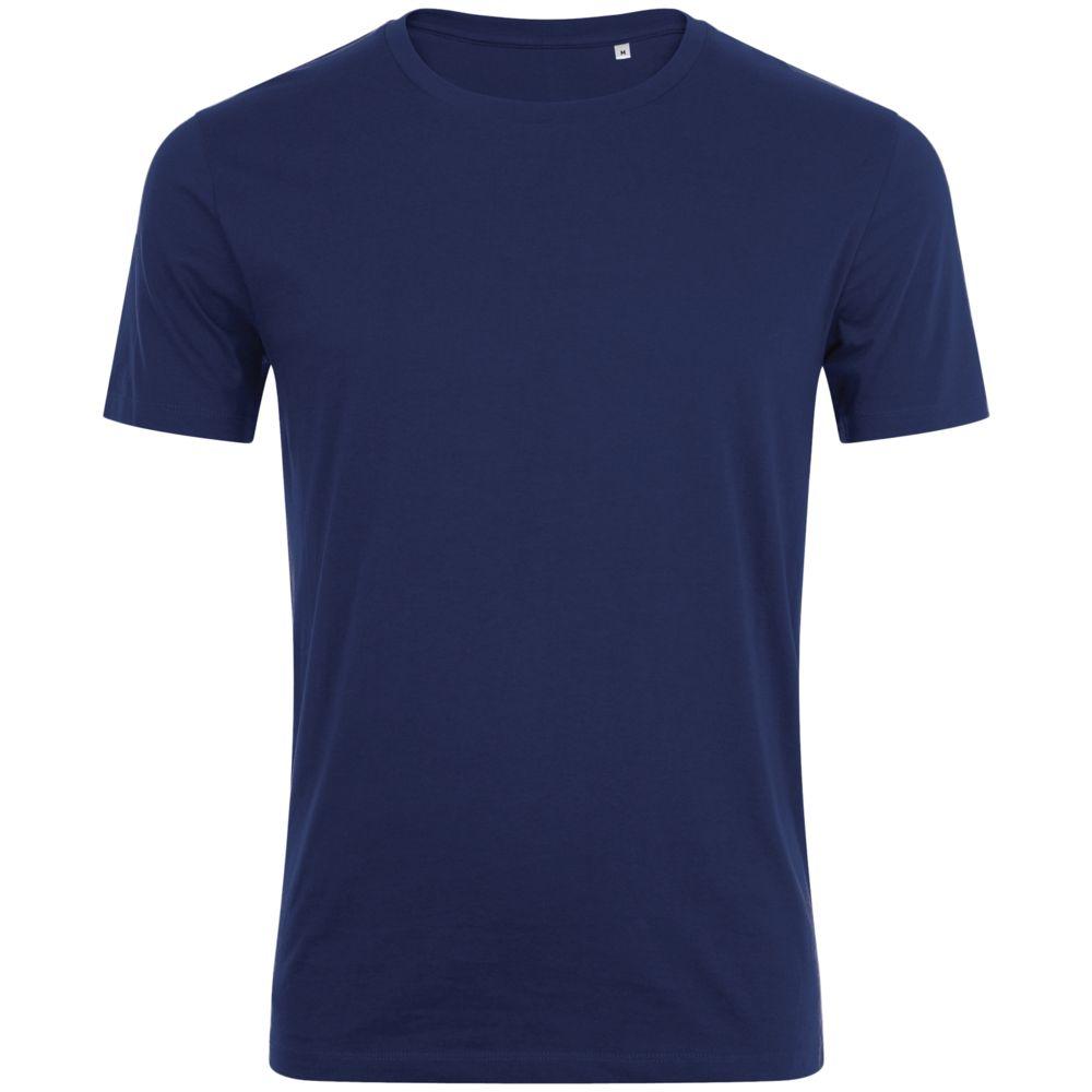 Футболка мужская MARVIN темно-синяя, размер XXL