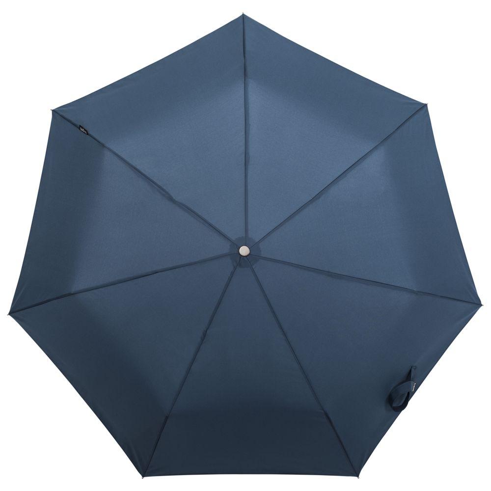 Складной зонт TAKE IT DUO, синий зонт складной zemsa zemsa mp002xw13drd