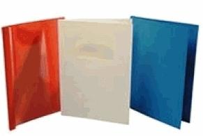 Фото - Термообложки картонные Ibico, под ткань, А4, 10 мм, серые обложки для переплета картонные гелеос а4 тиснение под кожу черные 100 шт