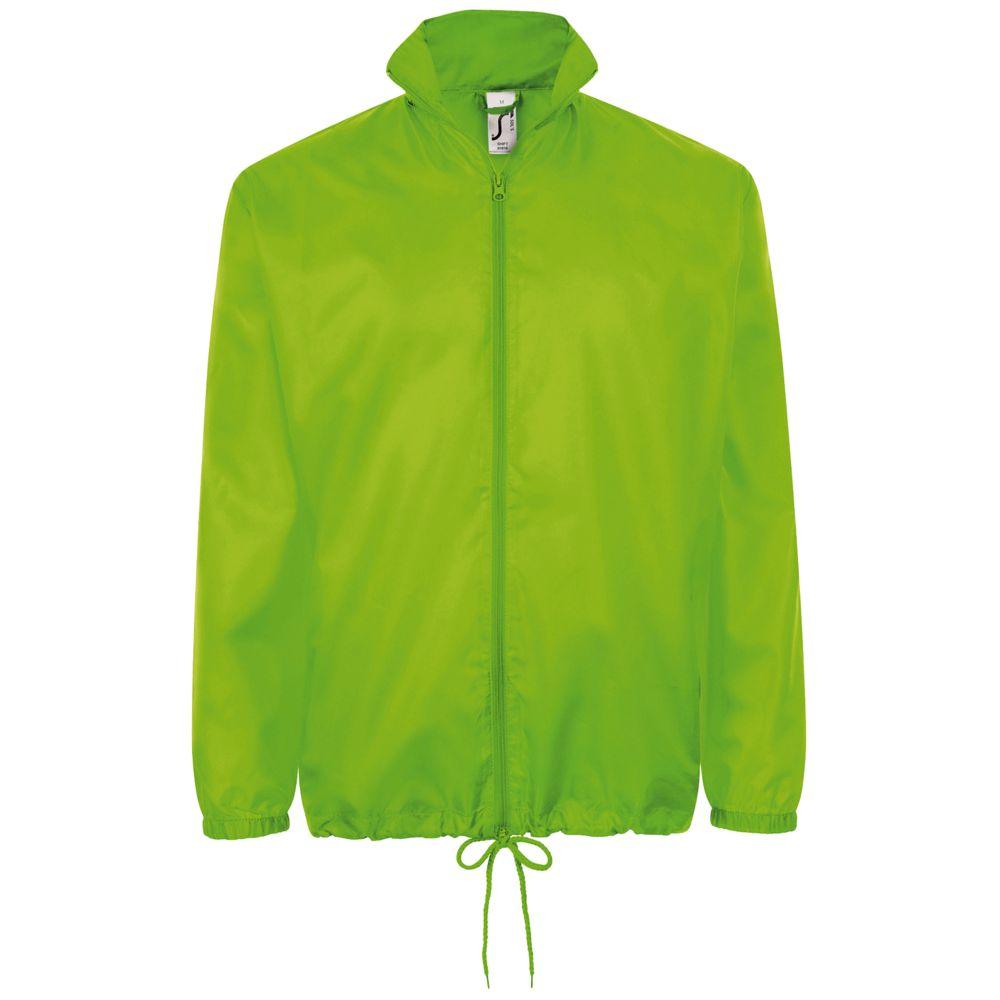 Ветровка унисекс SHIFT зеленое яблоко, размер XS