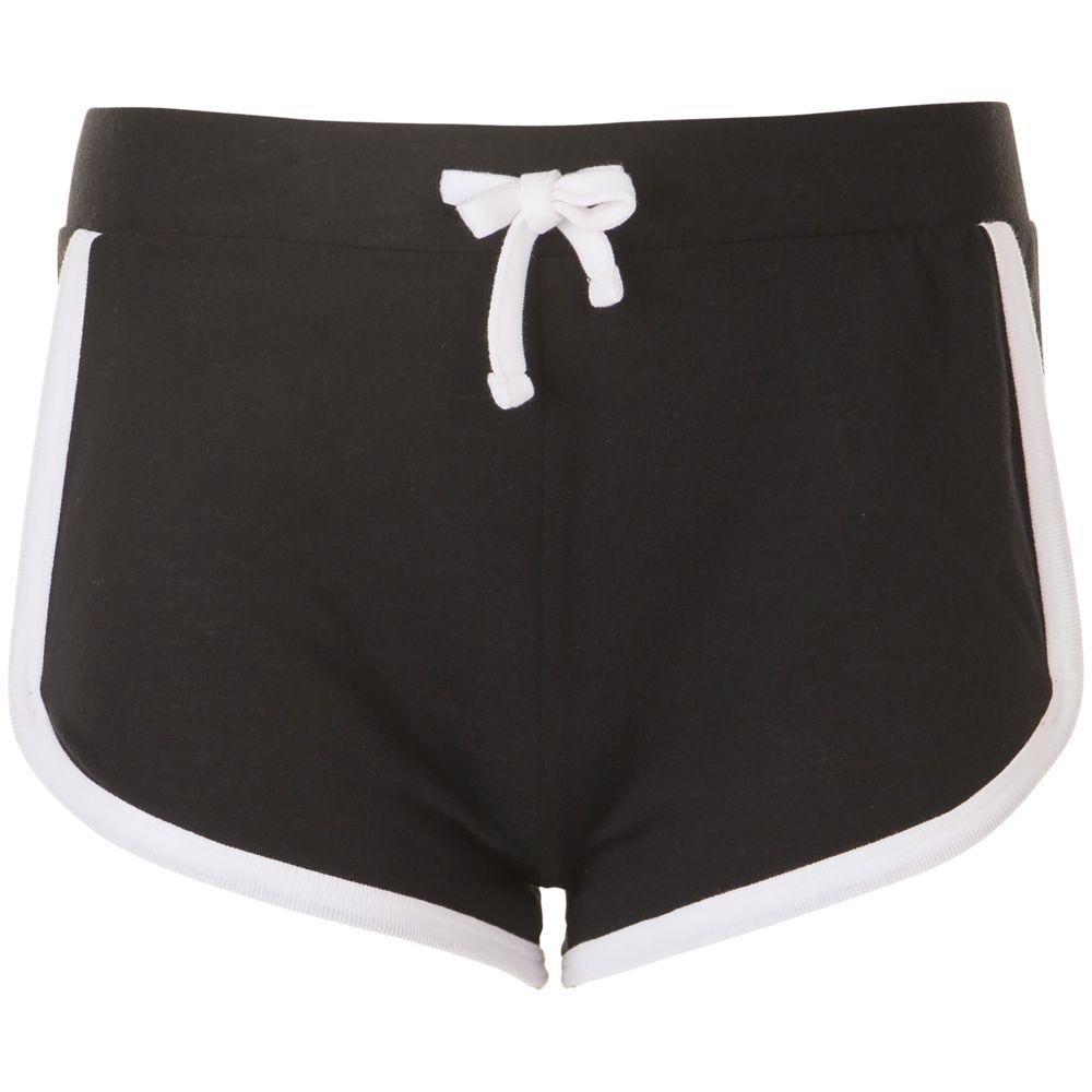 Шорты женские JANEIRO черные, размер XL/XXL