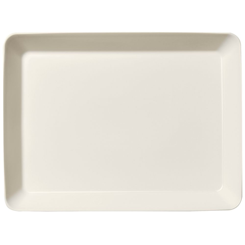 Блюдо сервировочное Teema, большое, белое