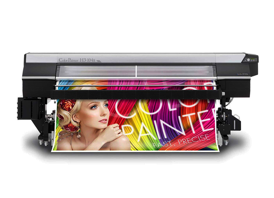 OKI ColorPainter H3-104s 8 colors