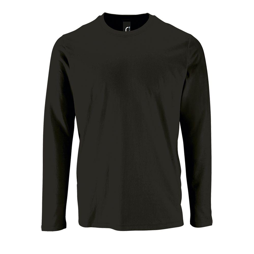 Фото - Футболка с длинным рукавом IMPERIAL LSL MEN черная, размер L l o l футболка l o l с длинным рукавом очки бирюза 128