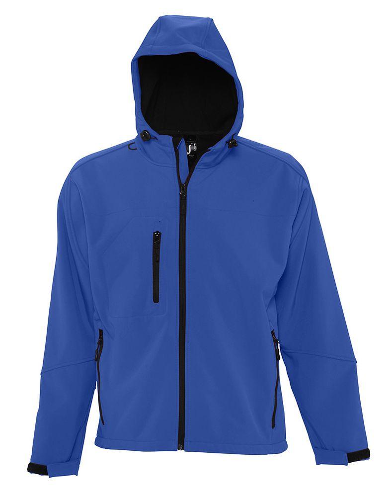 Фото - Куртка мужская с капюшоном Replay Men ярко-синяя, размер L куртка софтшелл мужская race men ярко синяя royal размер l