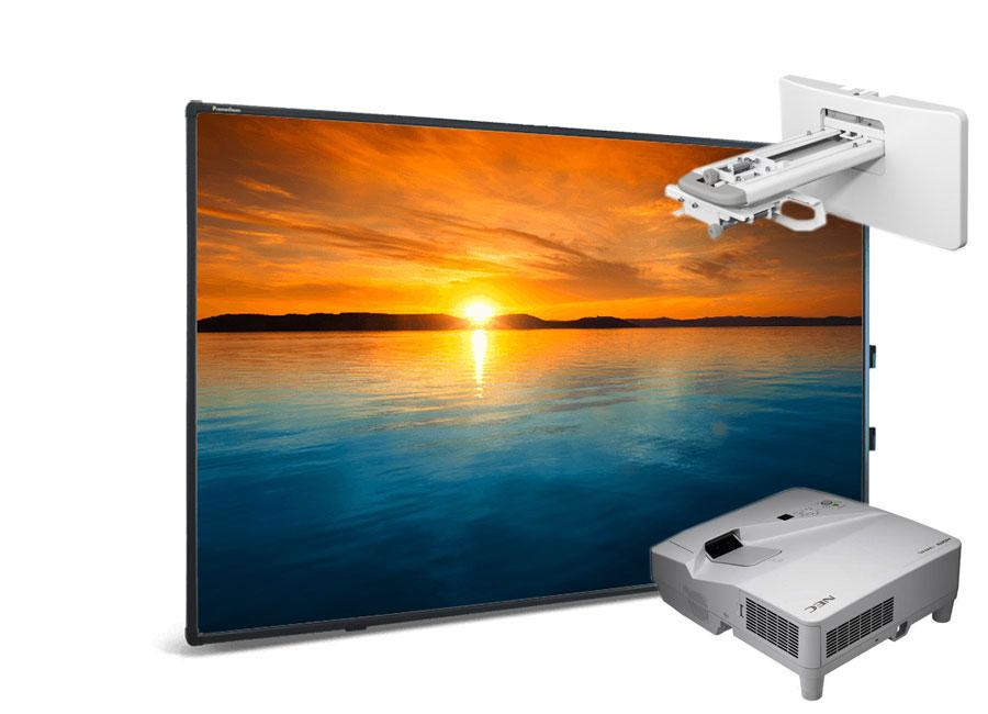Фото - Интерактивная доска Promethean ActivBoard Touch 88 Dry Erase 10 касаний, ПО ActivInspire в комплекте с проектором NEC UM351W и настенным креплением NEC NP04WK nec um301w um301wg wm с крепежом np04wk