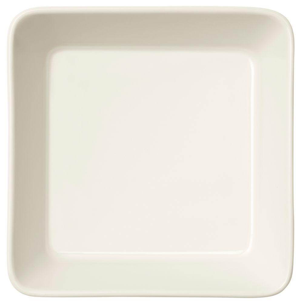 Тарелка Teema, квадратная, белая чашка кофейная teema белая