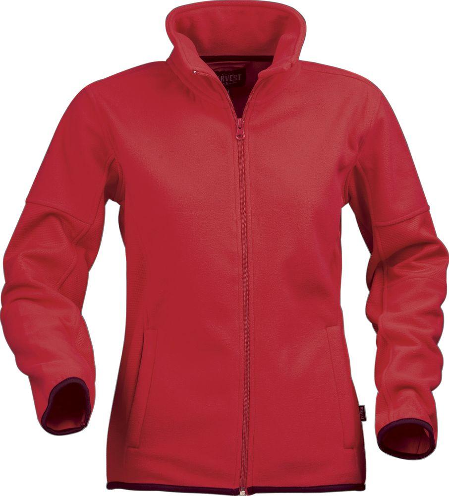Куртка флисовая женская SARASOTA, красная, размер M