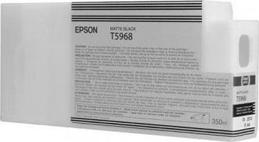 Фото - Epson T5968 Matte Black 350 мл (C13T596800) контейнер для хранения продуктов koziol hot stuff 350 мл с ложкой черный