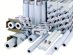 Фото - Oce Standard Paper IJM021 90 г/м2, 0.610x50 м, 50.8 мм, 3 рулона (7675B053) калька oce transparent paper ecf 90 г м2 0 914x100 м 7714b002