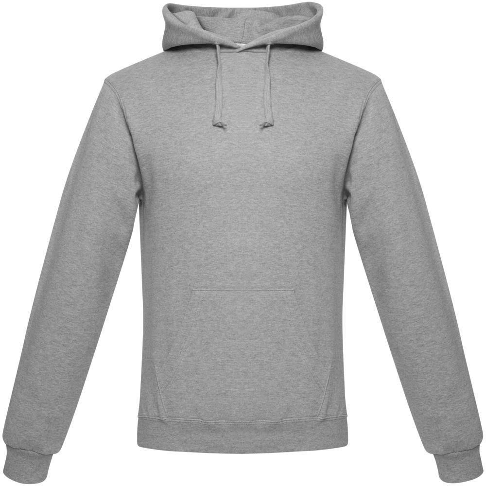 цена Толстовка ID.003 серый меланж, размер 4XL онлайн в 2017 году