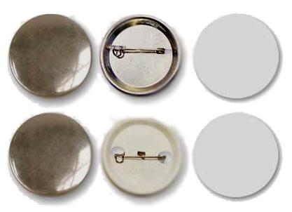 Заготовки для значков d56 мм, металл/булавка, 100 шт цена