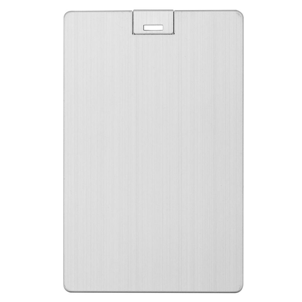 Флешка Platinum Card, 32 Гб, серебристая недорого