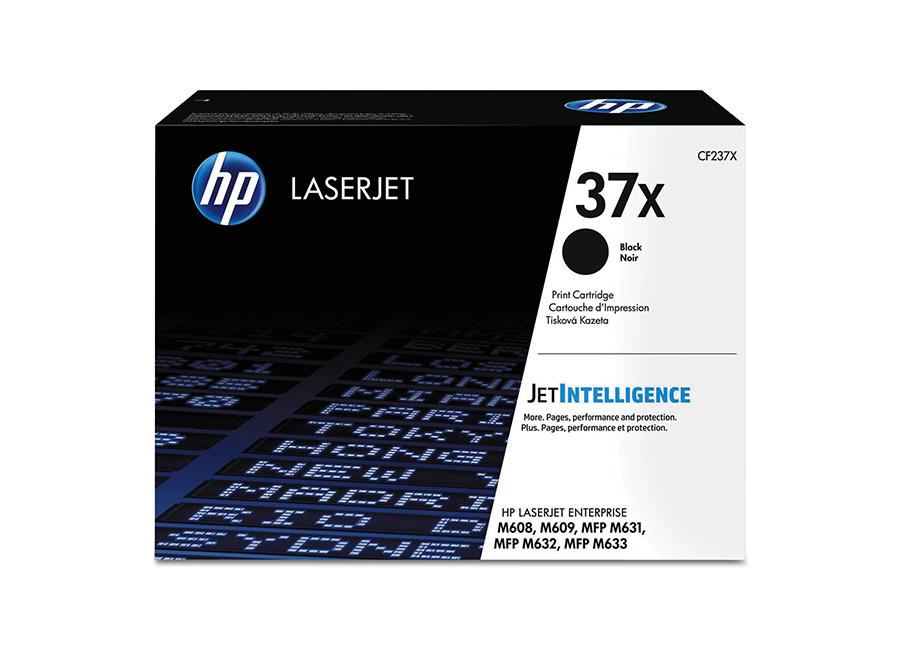 Тонер-картридж HP LaserJet 37X черный (CF237X)