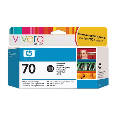 HP Vivera 70 Black 130 мл (C9449A) philips hp 6342