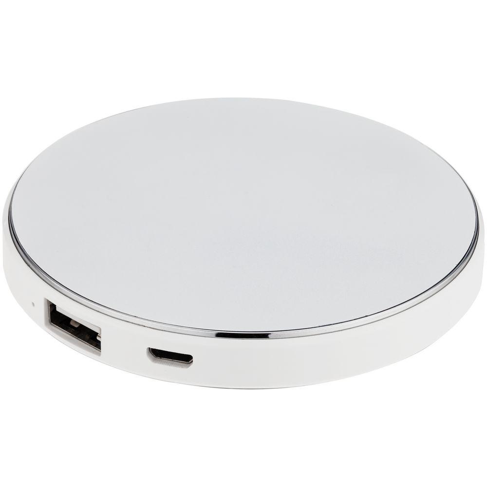 Фото - Внешний аккумулятор с подсветкой логотипа Uniscend Disc, 3000 мАч внешний аккумулятор зенит 3000 мач