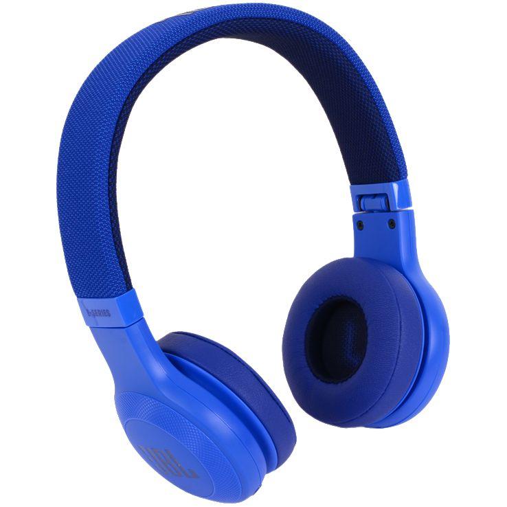 Фото - Беспроводные наушники JBL E45BT, синие сабвуфер jbl ms 12sd4