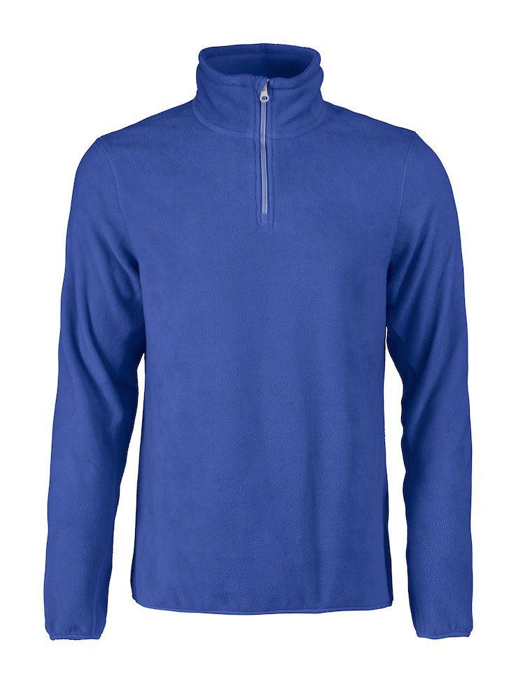 Толстовка флисовая мужская Frontflip синяя, размер S