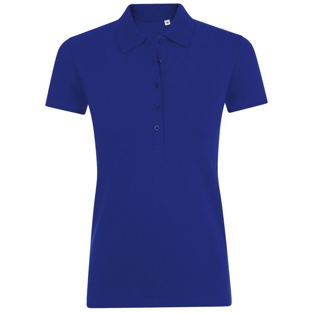 Рубашка поло женская PHOENIX WOMEN синий ультрамарин, размер XL фото