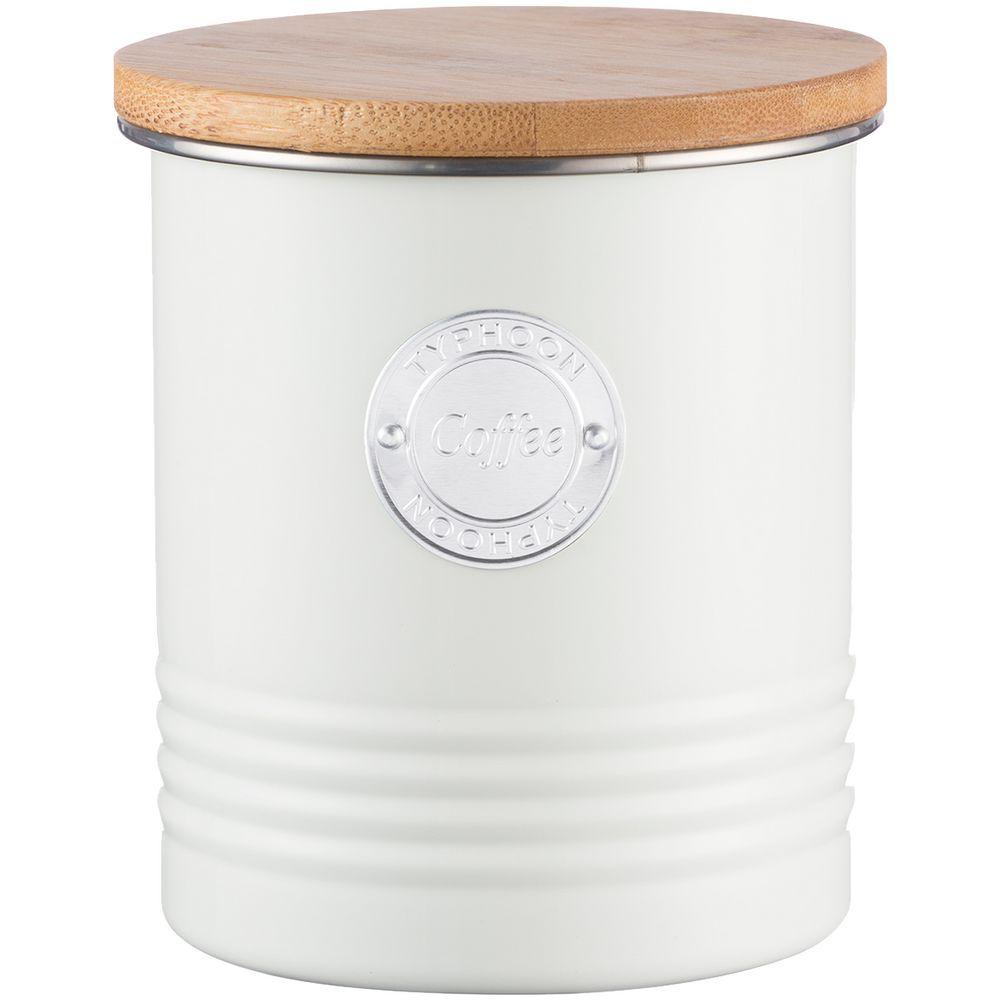 Фото - Емкость для хранения кофе Living, кремовая емкость для хранения modern kitchen средняя золотистая