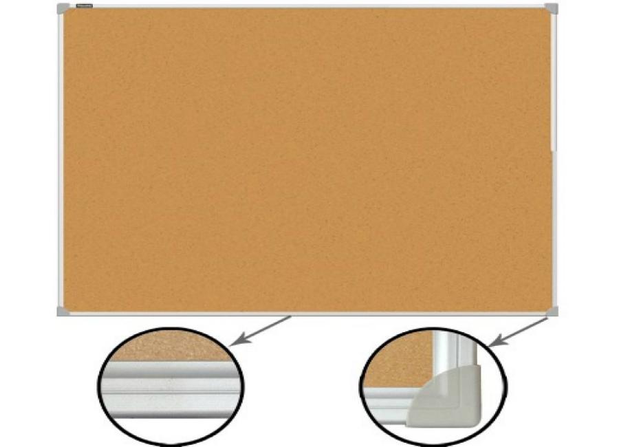 Пробковая доска Brauberg 60x90 см (231712) фото