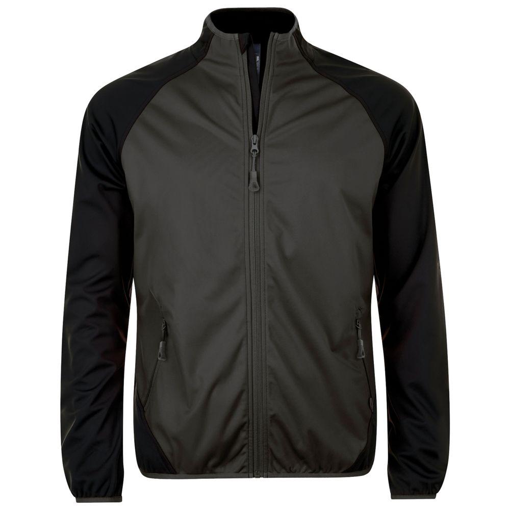Куртка софтшелл мужская ROLLINGS MEN темно-серый/черный, размер XXL фото