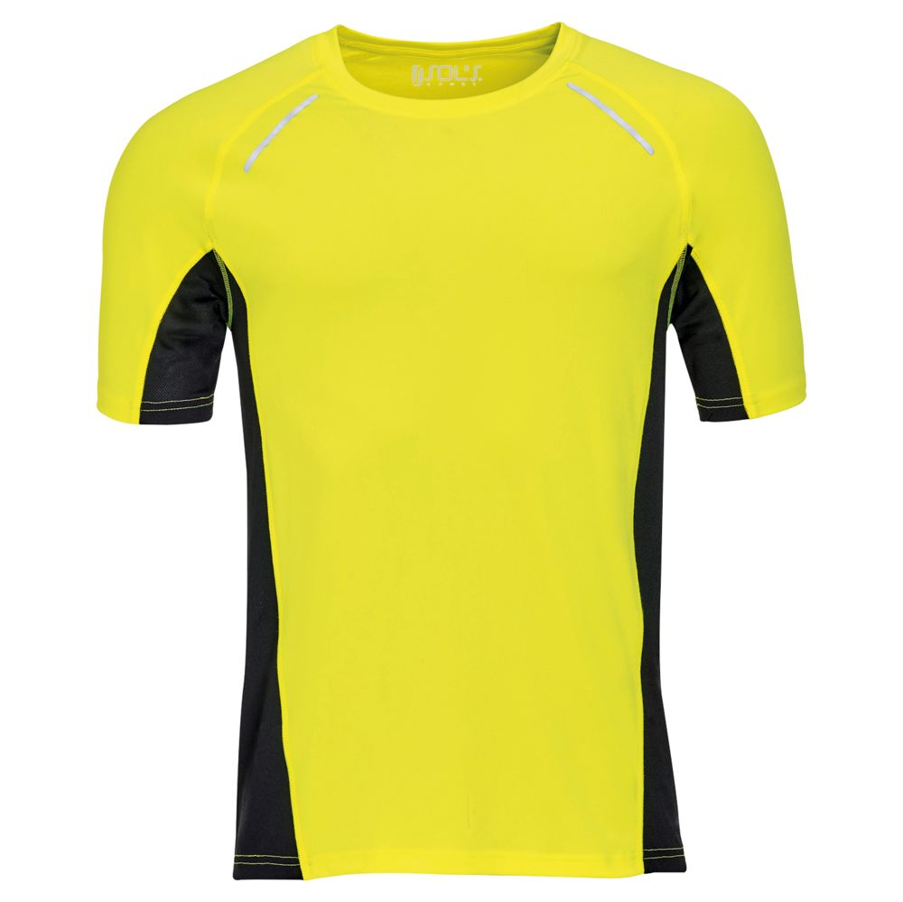 Футболка SYDNEY MEN, желтый неон, размер 3XL гибкий неон led желтый оболочка желтая бухта 50м
