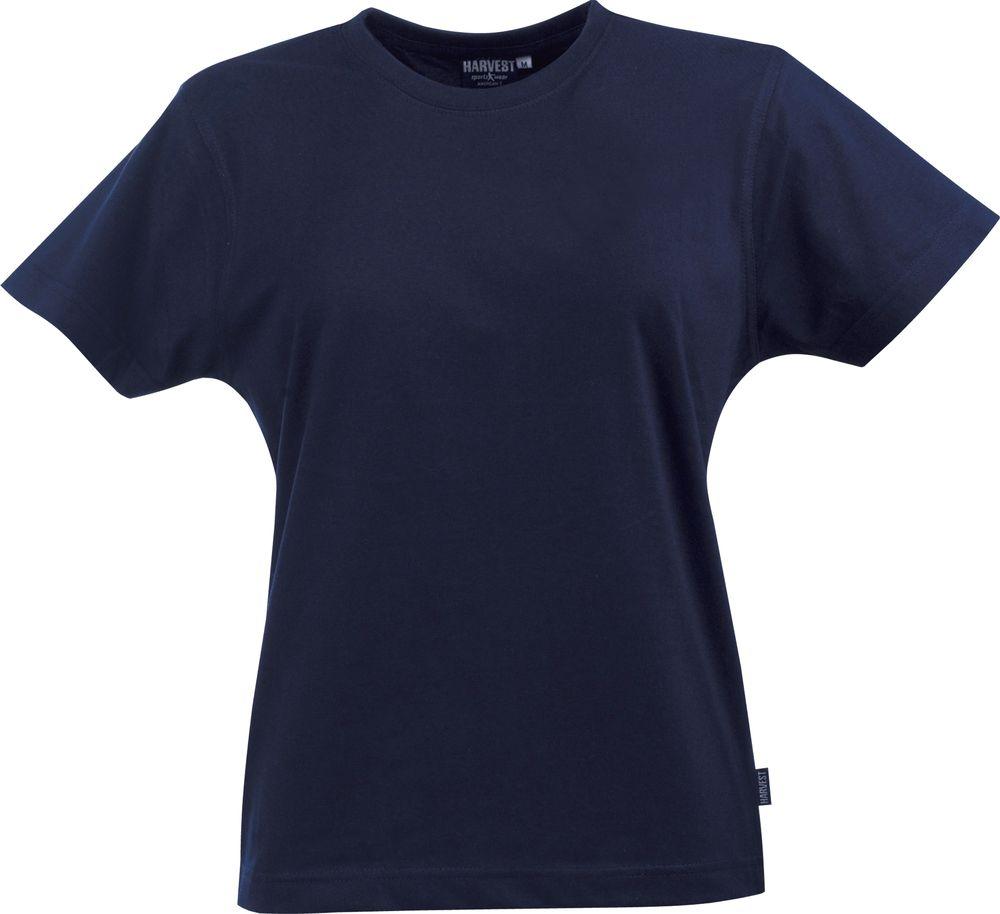 Фото - Футболка женская LADIES AMERICAN T, темно-синяя, размер XXL футболка женская ladies american t красная размер s
