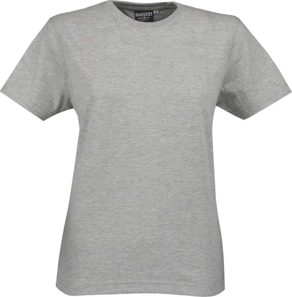 Футболка женская LADIES AMERICAN T, серый меланж, размер S