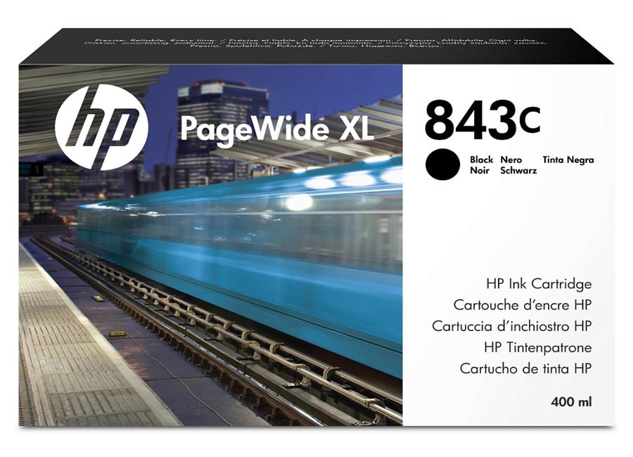 Фото - HP 843C PageWide XL черный картридж обслуживания hp 841 pagewide xl f9j48a