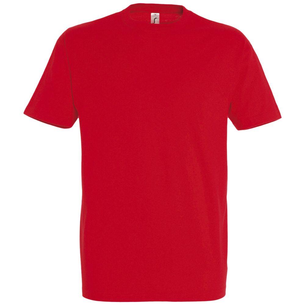 Футболка IMPERIAL 190 красная, размер 5XL