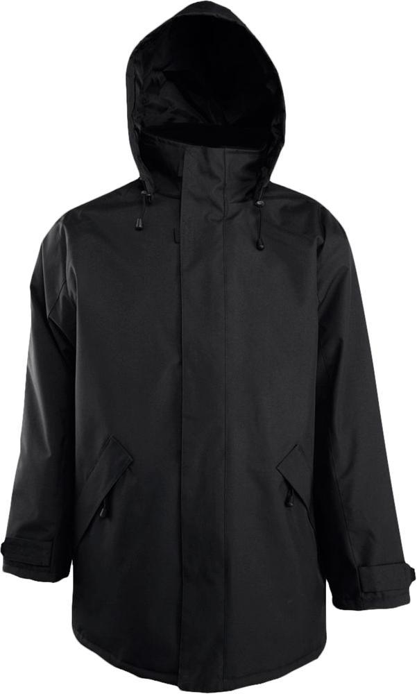 Куртка на стеганой подкладке River, черная, размер XL