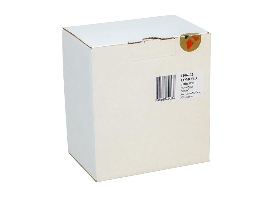 Фото - Lomond для струйной печати, A6, 270 г/м2, 500 листов, односторонняя, микропористая (1106202) мате kurupi compuesta menta y boldo 500 г уцененный товар