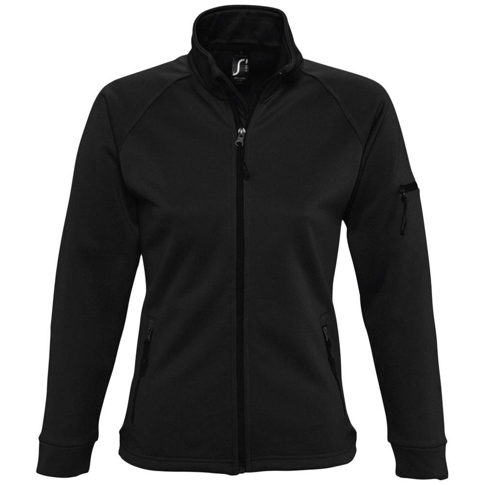Куртка флисовая женская New look women 250 черная, размер L