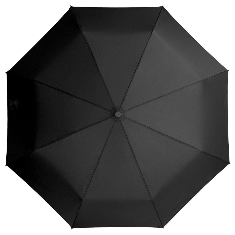 Зонт складной Unit Light, черный складной зонт unit classic черный