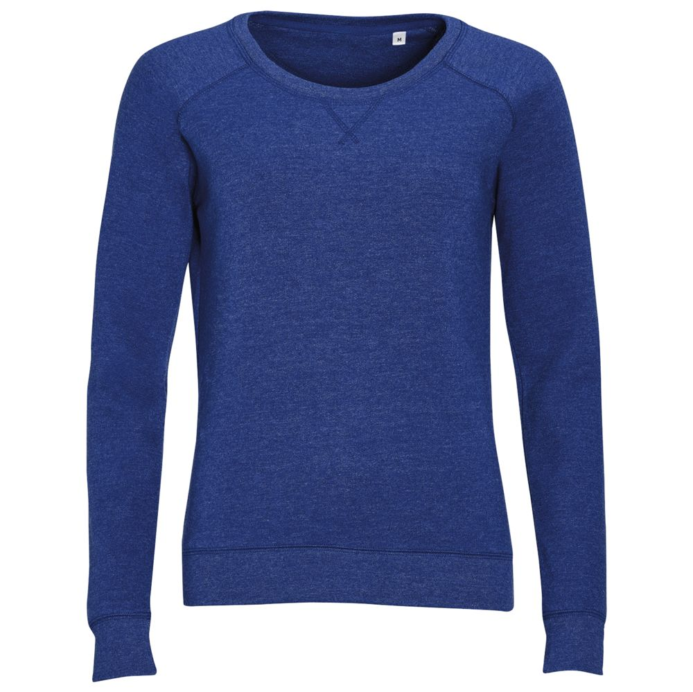 Толстовка STUDIO WOMEN синий меланж, размер XL толстовка мужская кхл цвет синий меланж 321020 размер xl 54