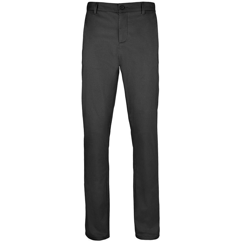 Фото - Брюки JARED MEN черные, размер 42 полустельки corbby half black кожаные черные размер 41 42