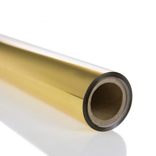 Фольга для горячего тиснения Forever Hot Stamping Foil HC Bright Gold, золотая (0.3х12 м)