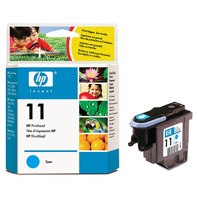 Печатающая головка HP Printhead №11 Cyan (C4811A) safty packing hp950 printhead for hp8100 printhead officejet pro8100 printhead