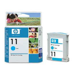 HP DesignJet 11 Cyan 28 мл (C4836A) картридж струйный hp c9391ae n 88xl cyan with vivera ink