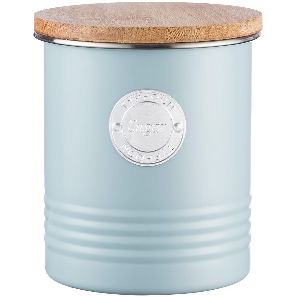 Фото - Емкость для хранения сахара Living, голубая емкость для хранения modern kitchen средняя золотистая